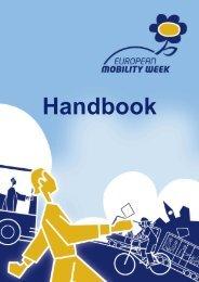 why this handbook? - European Mobility Week