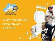 Presentation Finnish Coordination - European Mobility Week