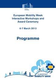 Programme - European Mobility Week
