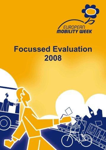 Evaluation brochure 2008 - European Mobility Week