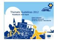 EMW focal theme 2012 - European Mobility Week
