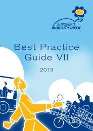 Best Practice Guide VII - European Mobility Week