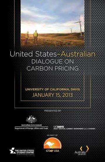 United States–Australian - Policy Institute - UC Davis