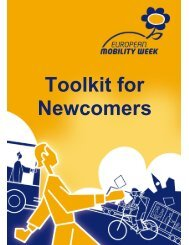 Toolkit for Newcomers - European Mobility Week