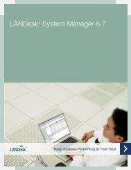 LANDesk® System Manager 8.7