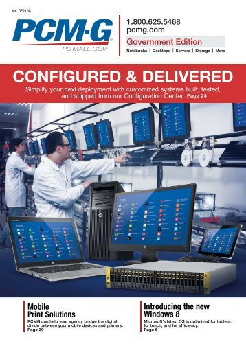 configured & delivered - Computer Sales & Solutions for Business
