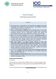 Background - World Business Council for Sustainable Development ...