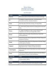 List of Participants - World Business Council for Sustainable ...