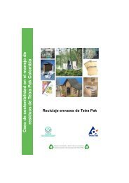 Caso de sostenibilidad en elmanejo de residuos de Tetra Pak ...