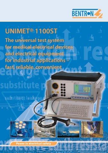 UNIMET® 1100ST - Bender Benelux BV