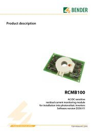 RCMB100 - Bender Benelux BV
