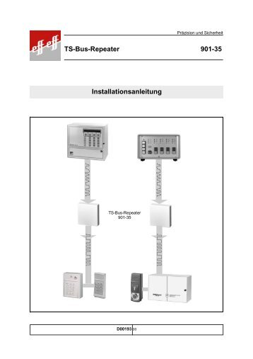 Installationsanleitung TS-Bus-Repeater 901-35 - Ikon