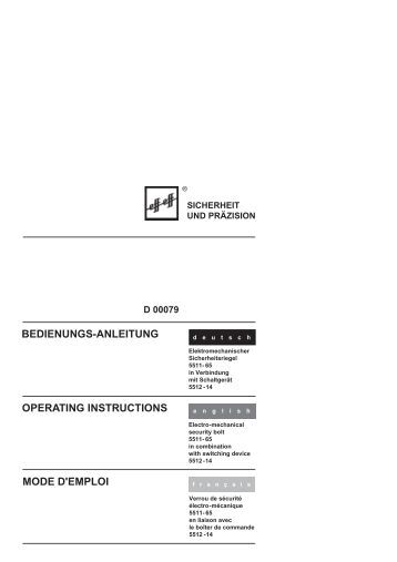 6 r wiring diagram el420 bedienungs anleitung mode d emploi operating assa abloy