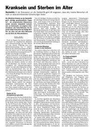 Kranksein und Sterben im Alter (PDF, 2 Seiten, 37 KB) - Stadt Zürich