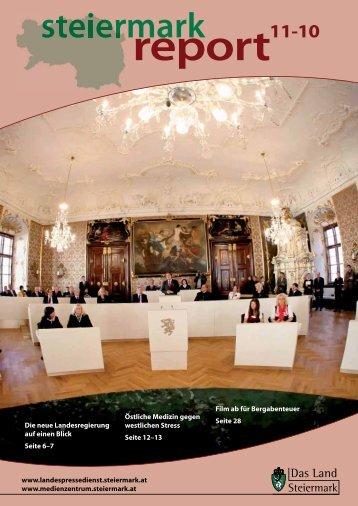 Steiermark Report November 2010 - BH Liezen