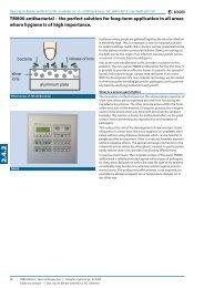TM800 antibacterial engels - Bender Benelux BV