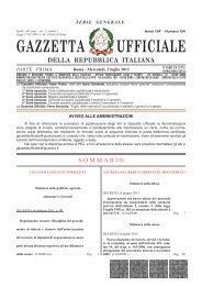 Gazzetta Ufficiale n.