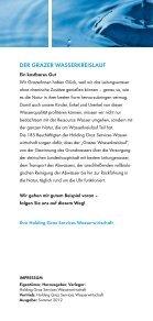 WaSSERWIRTSCHAFT - Holding Graz - Seite 2