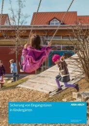 Sicherung von Eingangstüren in Kindergärten - Assa Abloy