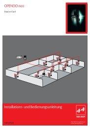 OPENDO neo Installations- und Bedienungsanleitung - Ikon