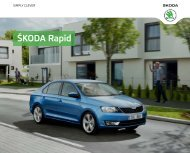 ÅKODA Rapid - Skoda Auto