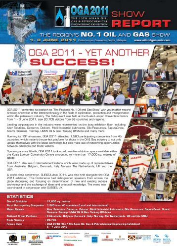to view or print - OGA 2013