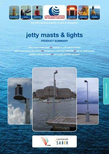 jetty masts & lights - Hydrosphere UK Ltd.