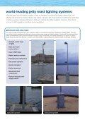 jetty masts & lights - Hydrosphere UK Ltd. - Page 2