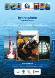 Hydrosphere UK Ltd Complete Products & Services Catalogue
