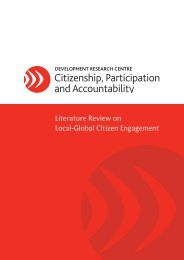 Literature Review on Local-Global Citizen Engagement - DRC ...