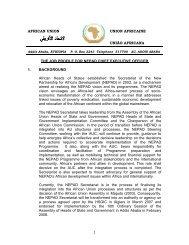AFRICAN UNION UNION AFRICAINE UNIÃO ... - FindaJobinAfrica