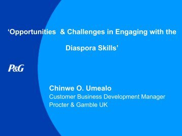 Chinwe Umealo, Customer Business ... - FindaJobinAfrica