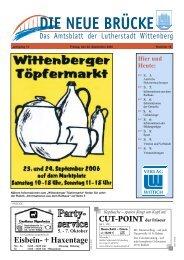 Information - Lutherstadt Wittenberg