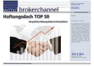 Haftungsdach TOP 50 - WMD Brokerchannel