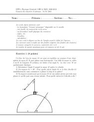 Exercice 1 (8 points) - Coaching - EPFL