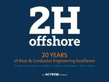 Tensioner System - 2H Offshore