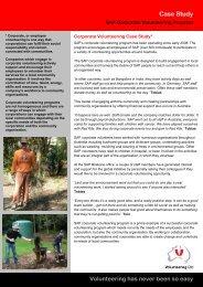 SAP case study - Volunteering Qld