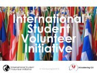 International Student Volunteer Initiative - Volunteering Qld