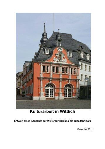 Kulturarbeit in Wittlich