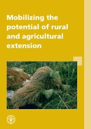 Mobilizing the potential of rural and agricultural extension - gfras