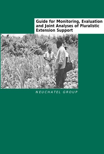Guide for Monitoring, Evaluation and Joint Analyses of Pluralistic ...