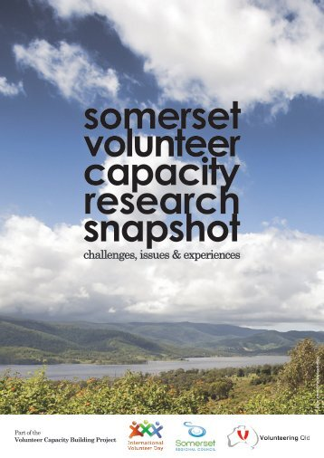 challenges, issues & experiences - Volunteering Qld