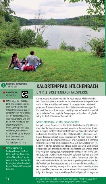 Pocketguide - Wittgensteiner Wanderland