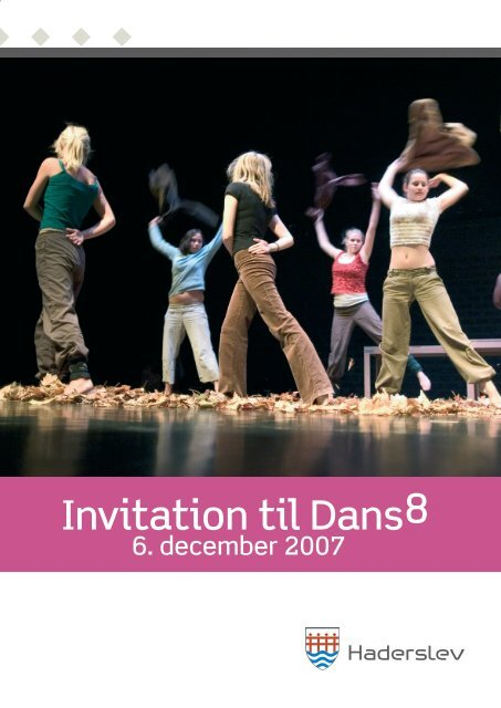 Invitation til Dans8 - Haderslev Kommune