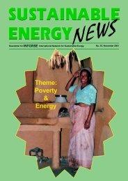 SEN 35 pdf - International Network for Sustainable Energy