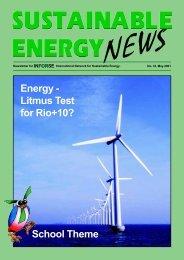 International Network for Sustainable Energy