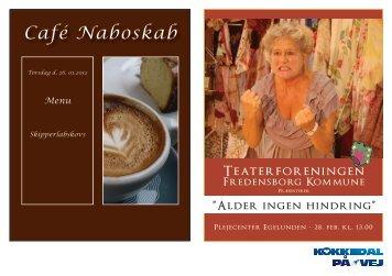 Café Naboskab - kokkedal på vej