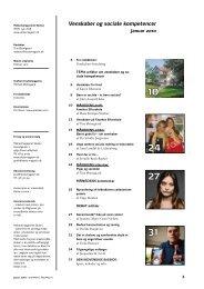 Venskaber og sociale kompetencer - Skole Magasin