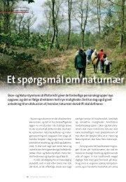 et spørgsmål om naturnær skovdrift