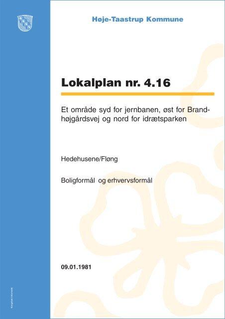 Høje Taastrup Kommune Lokalplan 4.16